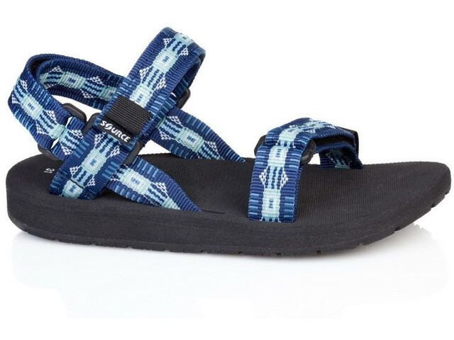 SOURCE Classic Sandals Kinder triangles blue